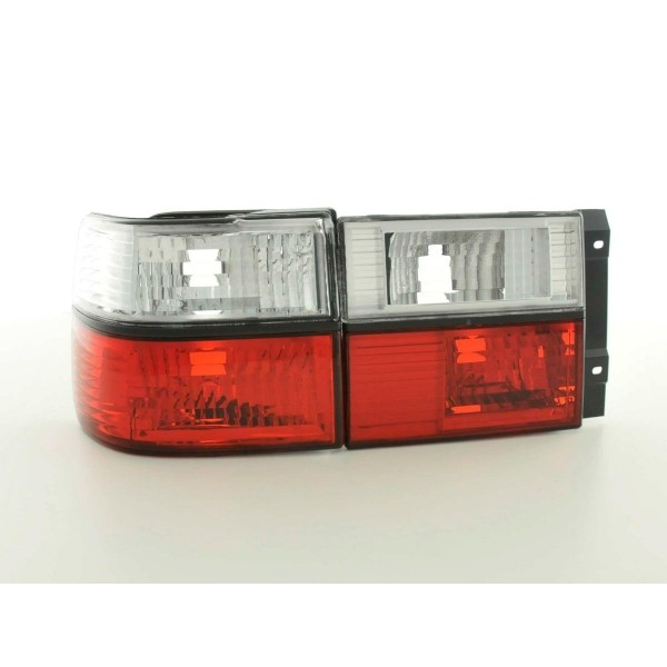 Taillights VW Vento Chrome Red/White