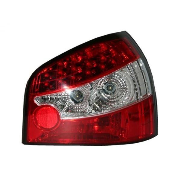 Ruckleuchten LED Audi A3 8L 96-03 red