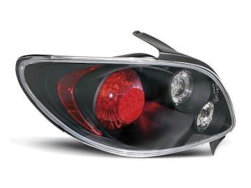 Taillights Peugeot 206 Lexus look Black
