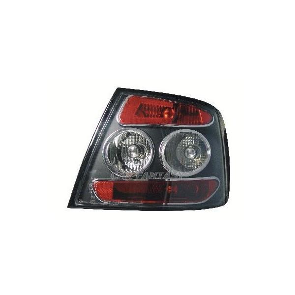 Taillights Audi A4 Limousine 95-01 lexus look Black