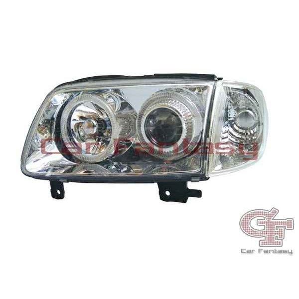 Headlights VW Polo 6N2 Angel Eyes Chrome SPECIAL PRICE</