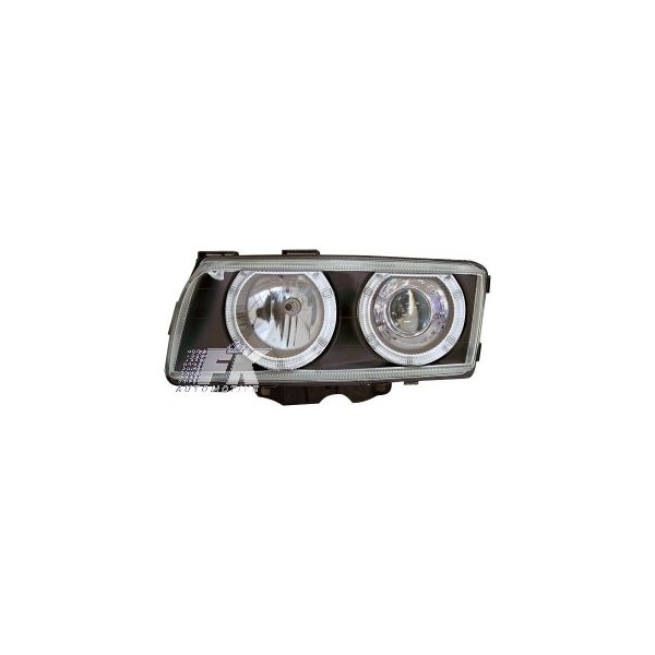 Headlights BMW 7 serie E38 95-98 Angel Eyes