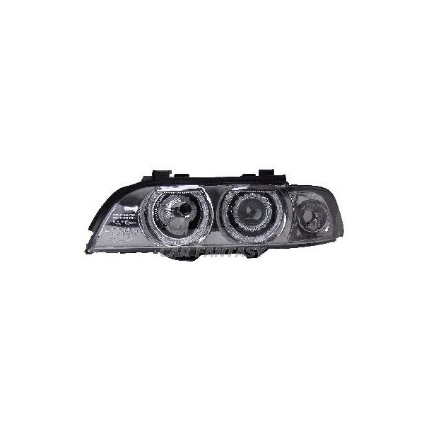 Headlights BMW E39 Angel Eyes for xenon