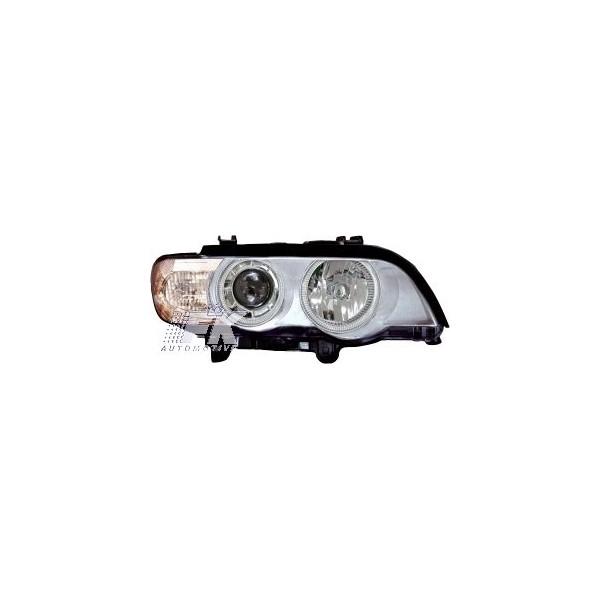 Headlights BMW X5 Angel Eyes