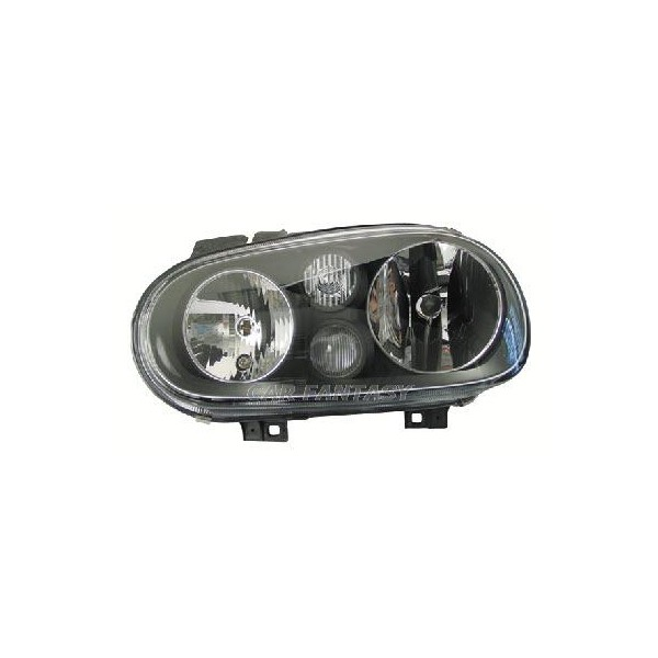 Headlights VW Golf IV Black