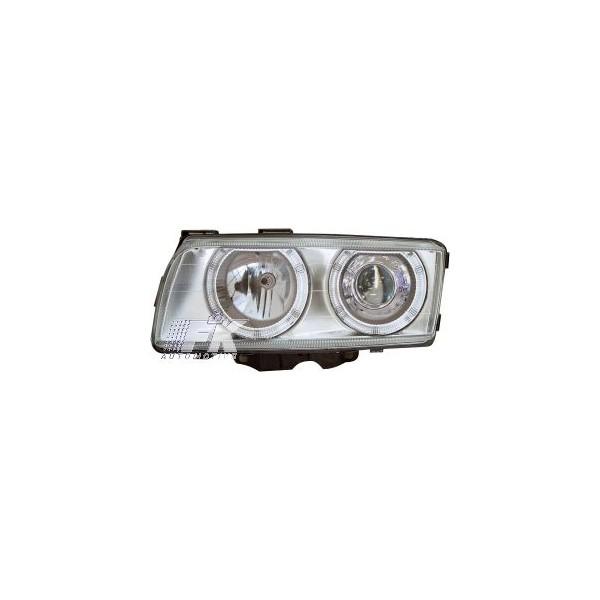 Headlights BMW 7 serie E38 95-98 Angel Eyes