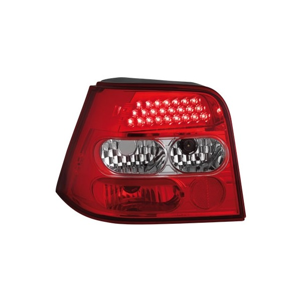 Taillights VW Golf IV LED clear Red