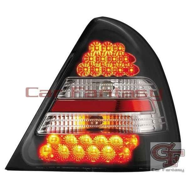 Taillights LED Mercedes C-Class W202 Black