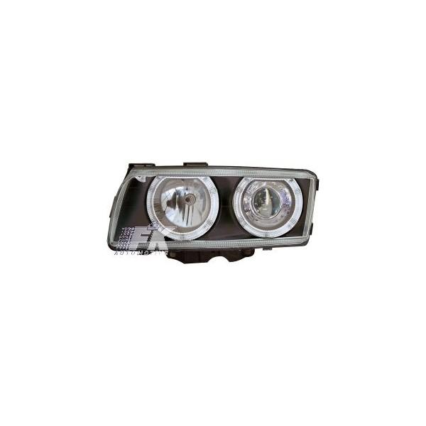 Headlights BMW 7 serie E38 98-02 Angel Eyes