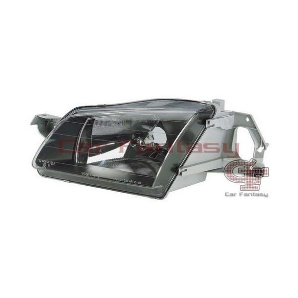Headlights Mazda 323 98-.. Black electrisch