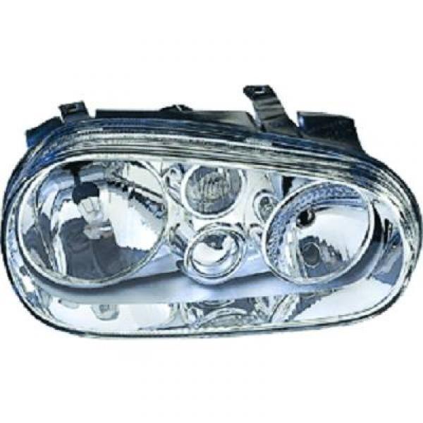 Headlights VW Golf IV Whiteh Foglight