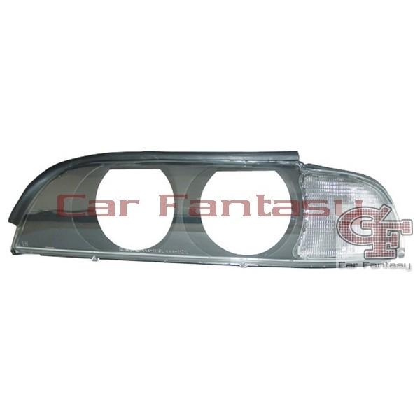 Headlightkappen BMW E39 Whiteh Clear knipperlight