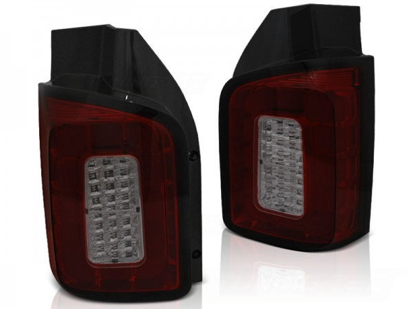 Taillights VW Bus T5 LED Tube Achterdeuren