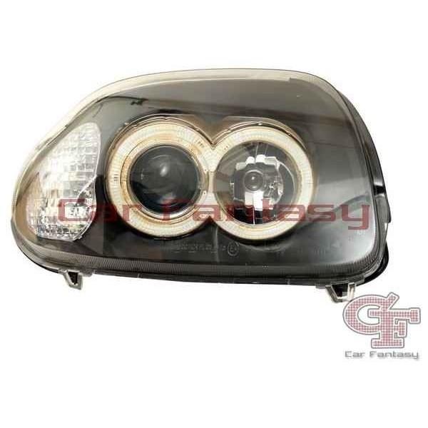Headlights Renault Clio B Angel Eyes