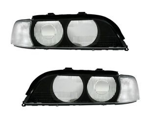 Headlightkappen BMW E39 Whiteh Clear knipperlight