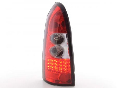 Taillights Opel Astra G Carafrom LED Red