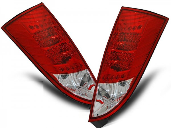 Taillights LED Ford Focus 01-.. Red