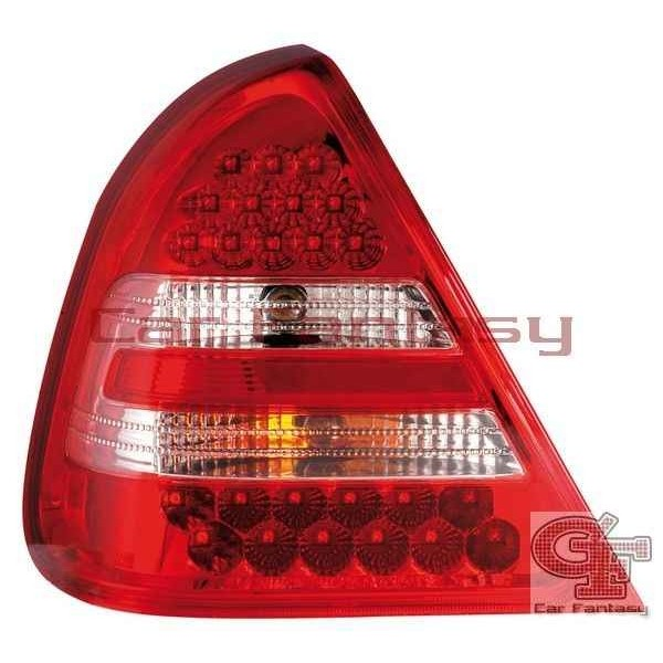 Taillights LED Mercedes C-Class W202 Red