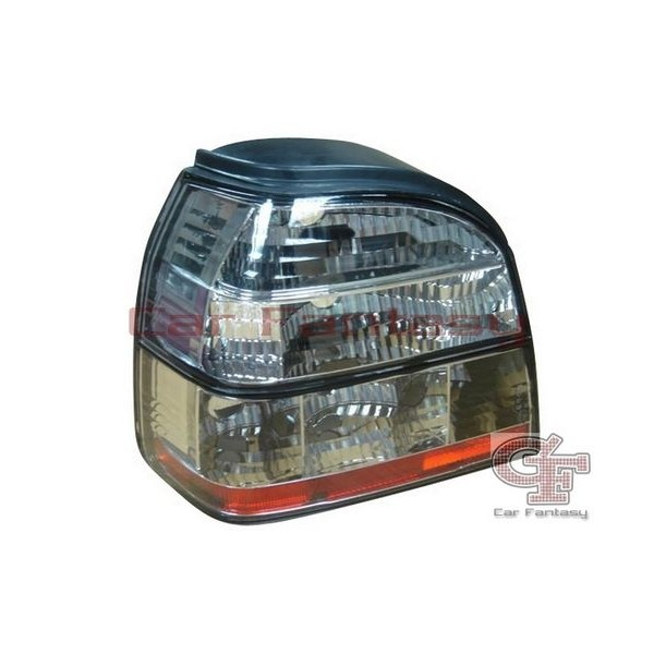 Taillights VW Golf III Clear White/Red