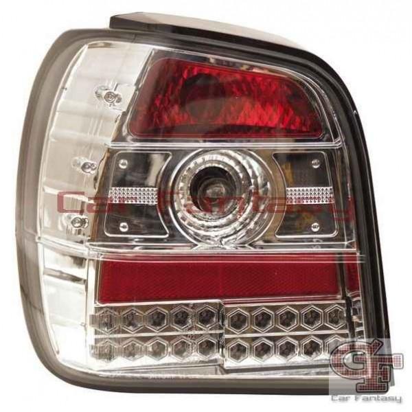 Taillights VW Polo 6N LED clear Chrome
