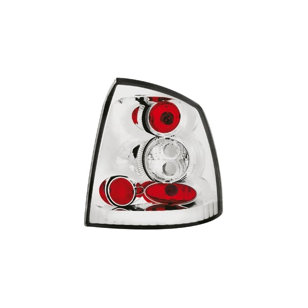 Taillights Opel Astra G Coupe lexus Chrome