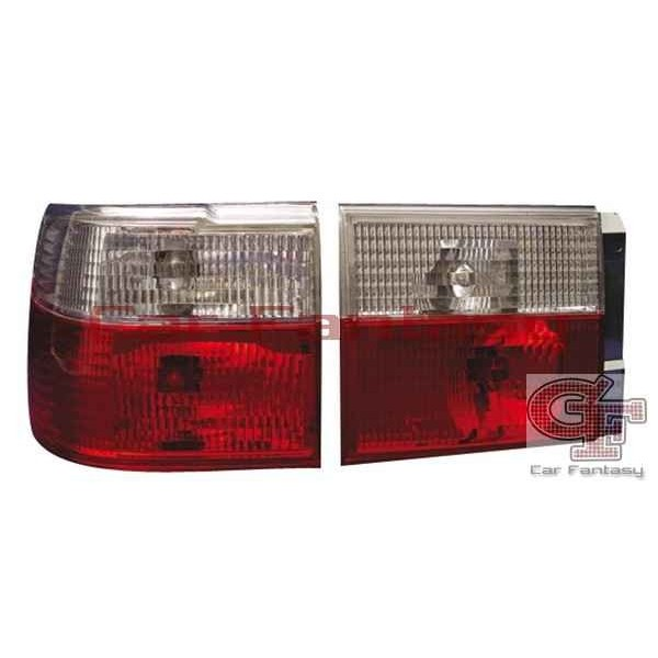 Taillights VW Vento Clear Red/White
