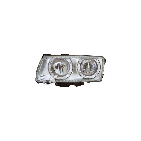 Headlights BMW 7 serie E38 98-02 Angel Eyes