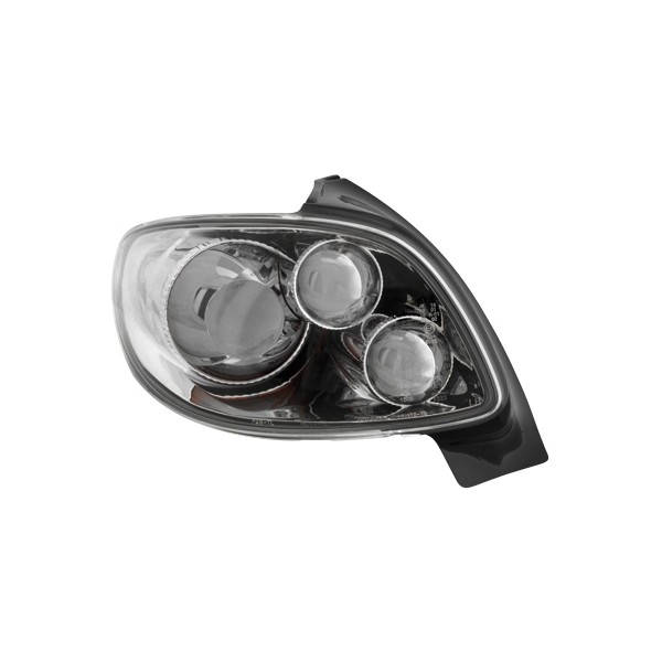 Taillights Peugeot 206 Chrome