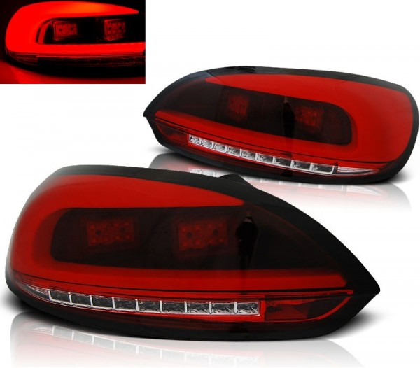 Taillights VW Scirocco 08- LED red/clear