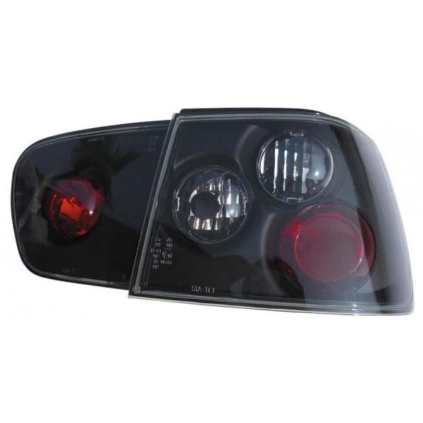 Taillights Seat Ibiza 99-02 lexus Black