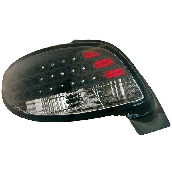 Taillights Peugeot 206 LED clear