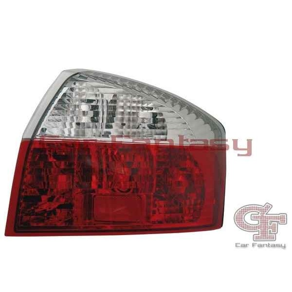 Taillights Audi A4 Limousine 01-04 Red/White