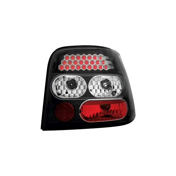 Taillights VW Golf IV LED clear Black
